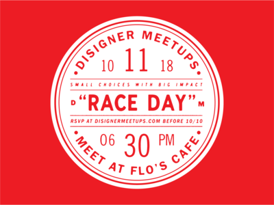 Disigner Meetups - Badge