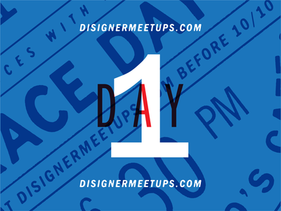 Disigner Meetups - TODAY!