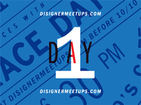 Disigner Meetups - TODAY!