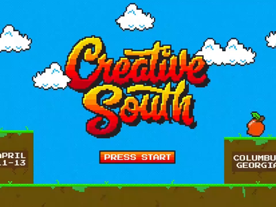 Creative South 2019 - Breakout design illustration color logo video game 8bit pixel animation typography type cs19 creativesouth