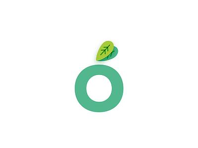 Outness Logo leaves nature logo branding logo