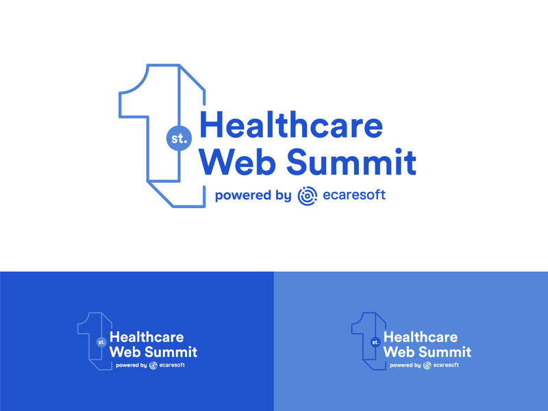 Healthcare Web Summit Logo event branding event healthcare logo technology logo tech logo technology health summit web summit health summit healthcare