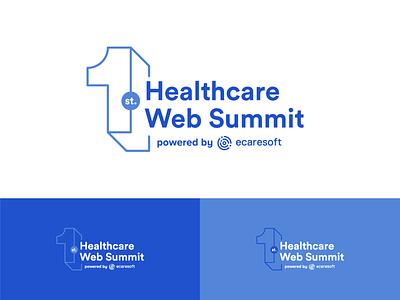 Healthcare Web Summit Logo event branding event healthcare logo technology logo tech logo technology health summit web summit health summit healthcare