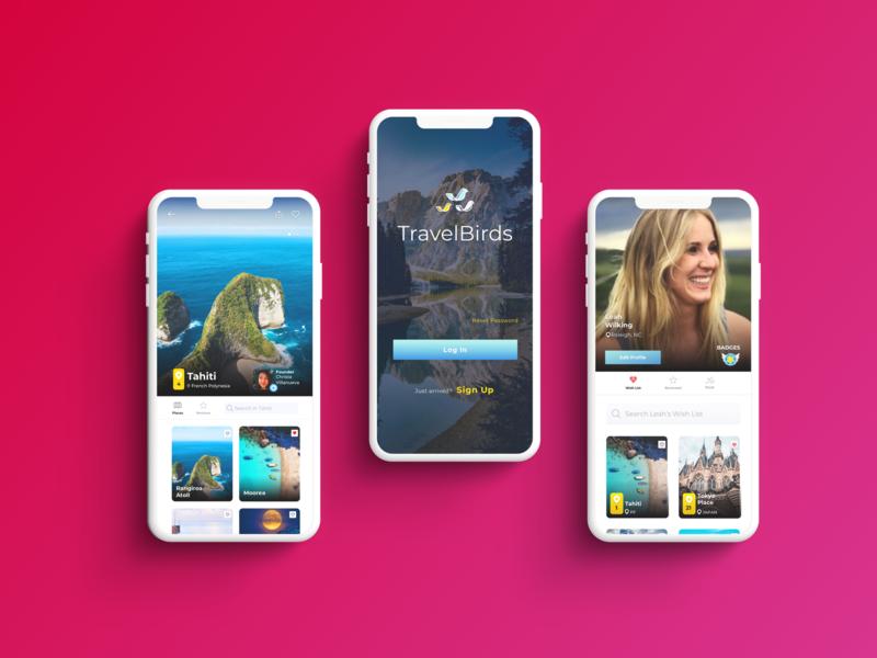 Travel IOS App ui app application uidesign uxdesign app design