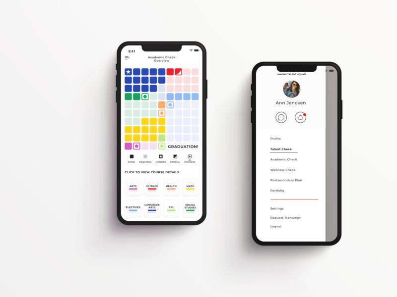 Academic App agencywork education ux design app designer ui design uiux