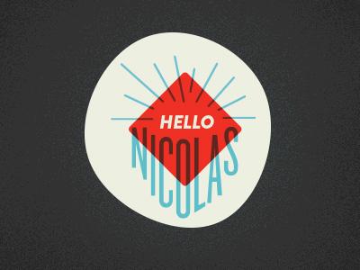 Hellonicolas Logo - WIP! logo personal type