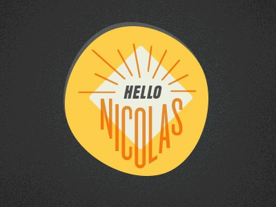 Hellonicolas Logo v2 - WIP! logo personal type