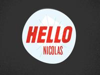 Hellonicolas Logo v4 - WIP!