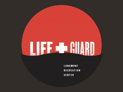 LIFE+GUARD v2 logo type lifeguard boulder
