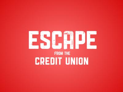 ESCAPE! justforfun game typography