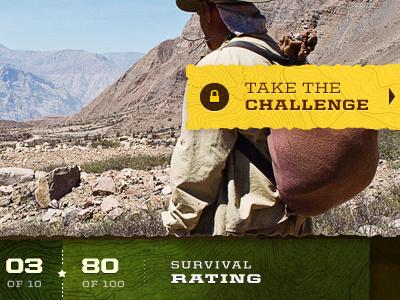 """Survival Challenge"" WIP texture nature comp wip"