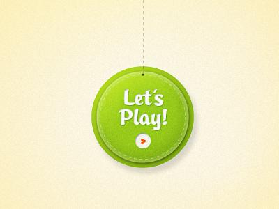 Press Me! ui button playful dangly bits