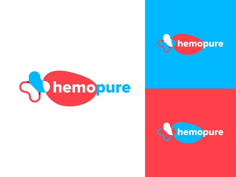 Hemopure medical design branding concept branding and identity doctor medical logo logo brand identity branding design medical branding