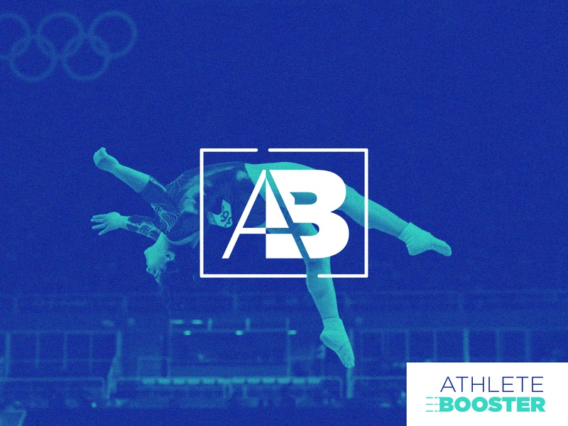 Athlete Booster Branding branding design brand identity branding brand sponsorship athlete branding olympic sports athlete