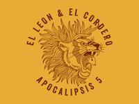 El León y el Cordero merchandise design illustrator art christian lamb lion tattoo illustration