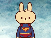 Kryptonian Bunny