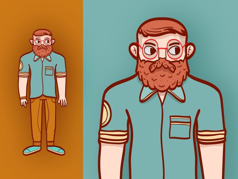 Hipster Exercise character designer person vector character hipster exercise character design
