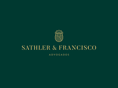 Sathler & Francisco Advogados Brand capixaba law firm brand identity brand logo design branding