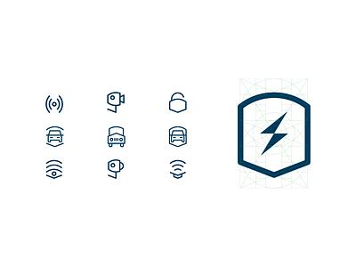 Jf Segurança Brand Icons proporçaoaurea designicons jfsegurança iconset