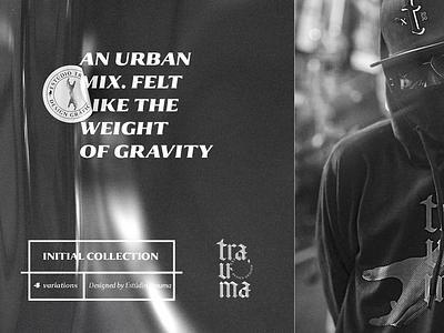 personal branding studio | trauma espiritosanto trauma design gravity mix felt urban moletom