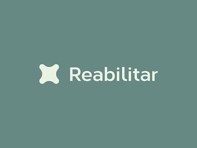 Clinica Reabilitar - brand solution reabilitar process illustration espiritosanto logo designlogo grids capixaba branding