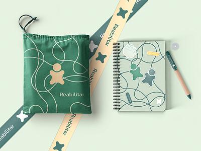Clinica Reabilitar - Brand Solution brand identity ai ilustrator photoshop brandsolution lines branddesigner brand colatina aimores