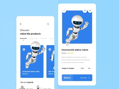 Robot App E-commerce