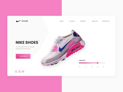Nike Page Design