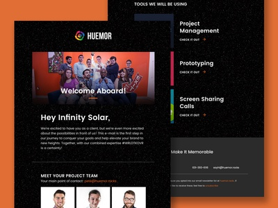 Welcome Email web newsletter email email template ui
