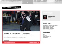 Sports Homepage News Section UI [roller derby]