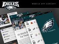 Eagles App Behance