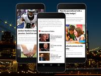 Broadcastr App Screens 2