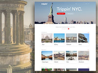 Travel Inspiration Site Concept