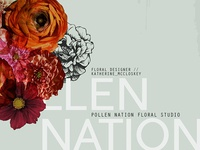 Pollen Nation Branding