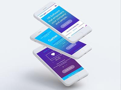 Creativedash Dribbble web user interface uiux ottawa design mobile website mockup