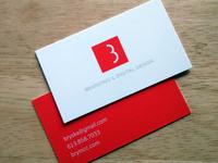 BryMcC.com Business Cards