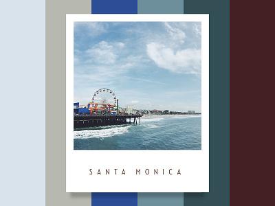 Colour Inspiration #2 design inspiration california palette ocean beach colour color