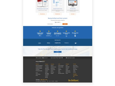 Halogen homepage 3 software ottawa ui canada saas homepage website web design