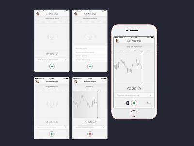 Audio Recording memo voice recording record app audio