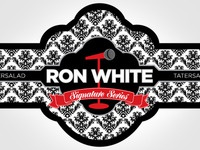 Ron White Cigar Label