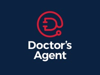 Doctor's Agent Logo illustration logo