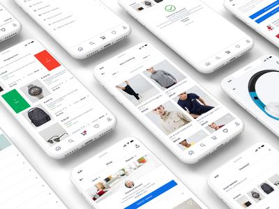 Online Shopping Mobile App