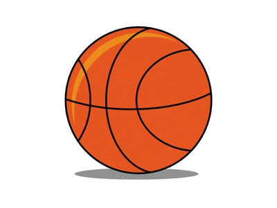 Dribbble illustration playground dribbble digital illustrator sports minimal basketball