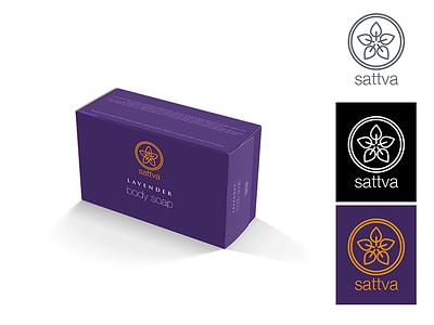 Sattva product body minimal commissioned illustrator vector design identity brand logo sattva