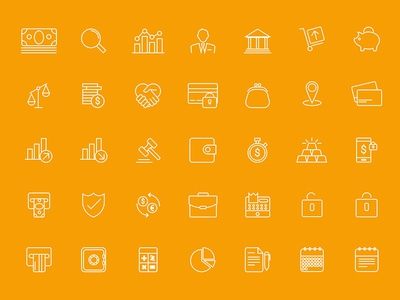 Business Icons download sketch business icons