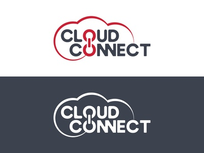 Cloud Connect minimal technology information identity branding logo cloudconnect