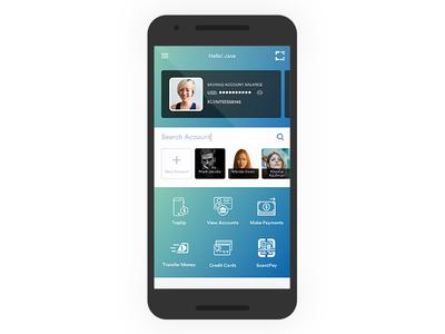 Mobile Banking App {WIP} design ui mobile app banking