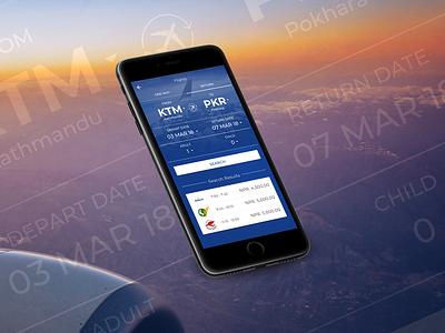 Flight Booking App Screen ui app minimal booking form flight search flight app book app airlines flight booking flight