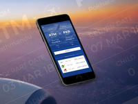 Flight Booking App Screen ui app minimal booking form flight search flight app book app airlines flight booking flight