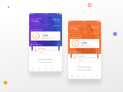 Dashboard - Fitness App